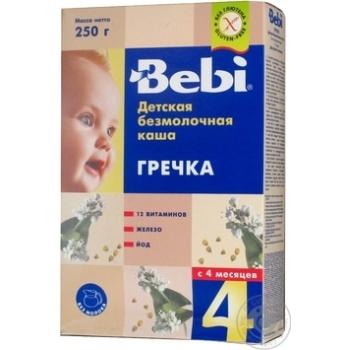 Каша Bebi безмолочная гречка 200г - купить, цены на Ашан - фото 3