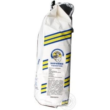 Борошно Август пшеничне  вищий гатунок 1кг - купити, ціни на МегаМаркет - фото 4