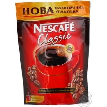 Кофе Нескафе Классик растворимый гранулированный 150г Россия