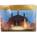 Конфета Свиточ Львов десерты шоколад с начинкой 378г коробка Украина