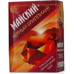 Чай чорний середньолистовий Чорний діамант Майський 90г