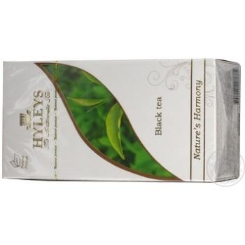 Black pekoe tea Hyleys 25x2g teabags Sri Lanka - buy, prices for Novus - image 2