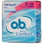 Тампоны o.b. ProComfort Mini 8шт