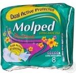 Прокладки гігієнічні Molped Ultra maxi Deo Floral 8шт
