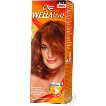 Фарба для волосся Wellaton Maxi Single 8/74 Шоколад з карамеллю