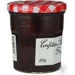 Confiture Bonne maman strawberry strawberries with cream 370g glass jar