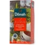 Tea Dilmah black packed 25pcs 50g Sri-lanka
