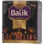 Tea Batik black granular 50g Sri-lanka