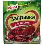 Cooking base Knorr for borscht 90g Ukraine