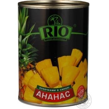 Ананаси Ріо шматочками в сиропі 580мл Таїланд - купити, ціни на Novus - фото 6