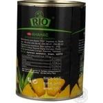 Ананаси Ріо шматочками в сиропі 580мл Таїланд - купити, ціни на Novus - фото 3