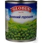 Vegetables pea Globus pea 850ml can Russia
