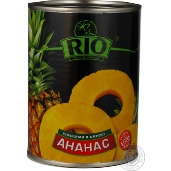 Pineapple slices Rio in syrup 580g Thailand - buy, prices for Novus - image 6