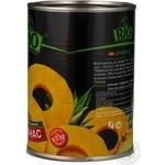 Pineapple slices Rio in syrup 580g Thailand - buy, prices for Novus - image 2