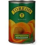 Fruit apricot Toredo in syrup 425ml can China