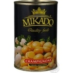 Mushrooms cup mushrooms Mikado canned 425ml can China