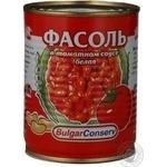 kidney bean Boulard white in tomato sauce 360g can Russia