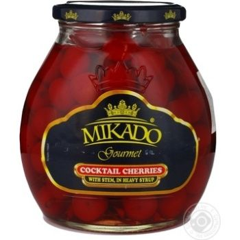 Вишня Микадо коктейльная красная 720мл Китай