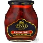 Fruit strawberry Mikado in syrup 720ml glass jar Germany
