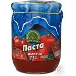 Tomato paste Dary laniv tomato 520g glass jar