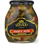 Vegetables Mikado canned 530g glass jar China