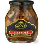 Mushrooms Mikado pickled 580ml glass jar Germany