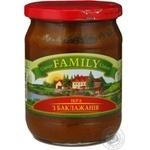 Caviar Family vegetable 460ml glass jar Ukraine