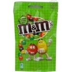 Dragee M&m's chocolate with nuts 90g Russia