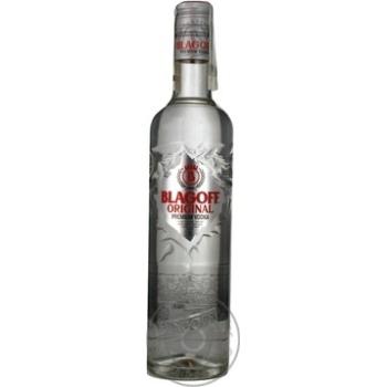 Водка Blagoff Original Premium 40% 0,5л