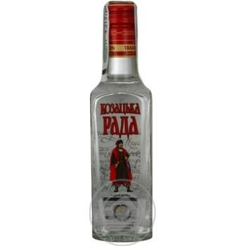 Kozatska Rada Original vodka 40% 0,25l