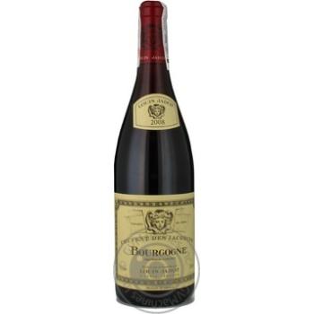 Вино Louis Jadot Bourgogne Rouge красное сухое 12.5% 0.75л - купить, цены на СитиМаркет - фото 1