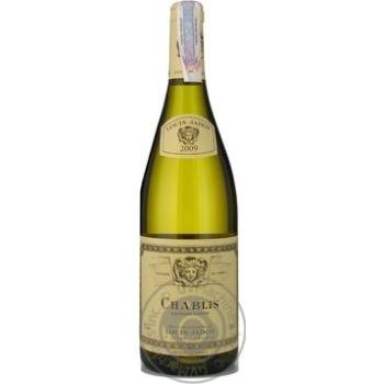 Louis Jadot Chablis white dry wine 12.5% 0.75l - buy, prices for CityMarket - photo 1