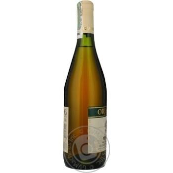 Вино біле Ореанда Мускат Феодосійський ординарне десертне солодке 16% скляна пляшка 700мл Україна - купити, ціни на Ашан - фото 7