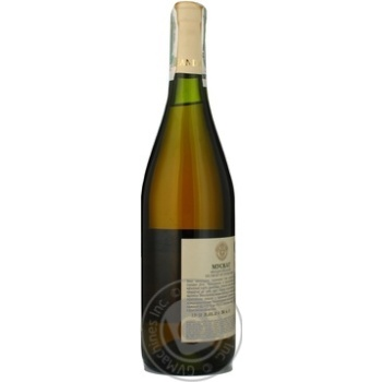 Вино біле Ореанда Мускат Феодосійський ординарне десертне солодке 16% скляна пляшка 700мл Україна - купити, ціни на Ашан - фото 6