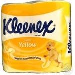 Toilet paper Kleenex Sunny yellow 430g Poland