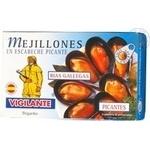 Мідії в соусі гострий маринад Vigilante 120г