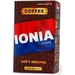 Кофе Иония Ориджинал натуральный жареный молотый 250г Италия