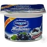 Йогурт Живинка молочний виноград 115г