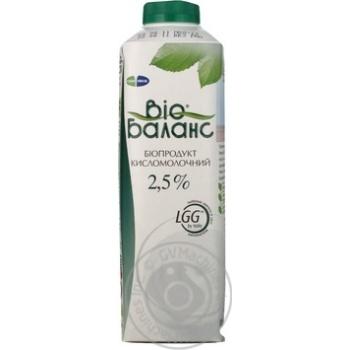 Биопродукт кисломолочный Био Баланс 2.5% 1000г Украина