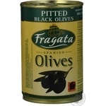 olive Fragata black pitted 300ml can Spain