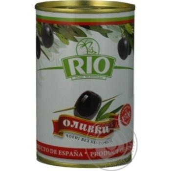 Оливки Ріо чорні б/кіст.з/б 300г