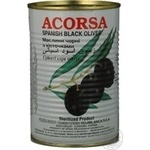 olive Acorsa black with bone 425g can Spain