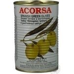 olive Acorsa green with bone 425g can Spain