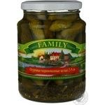 Family Pickled Whole Cucumbers