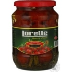 Vegetables tomato Lorelly canned 720ml glass jar China