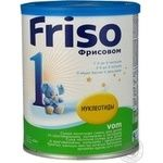 Milk formula Friso Frisovom 1 for children with colic constipation and regurgitation for 0 to 6 months babies can 400g The Netherlands