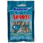 Snack anchovy Bering dried 25g Ukraine