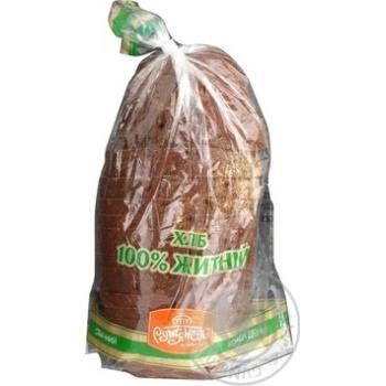 Хлеб Румянец ржаной нарезка 900г Украина