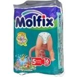 Diaper Molfix for children 11-25kg 18pcs Germany