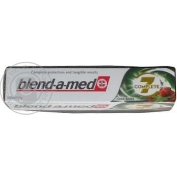 Зубная паста Blend-A-Med Комплекс Отбеливание + Природная свежесть Мята и эвкалипт 100мл - купить, цены на Ашан - фото 3
